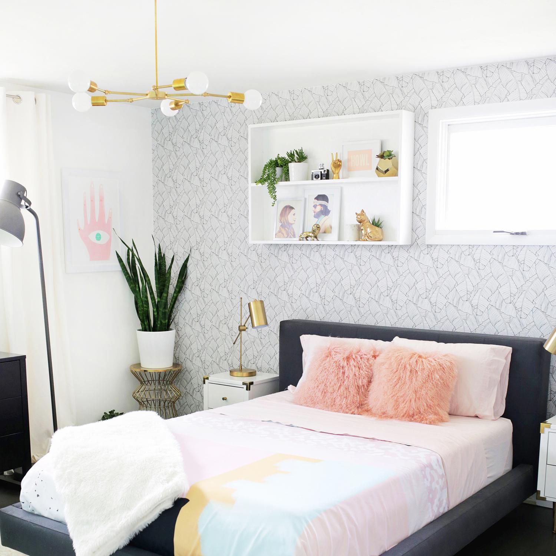 Master Bedroom (Before + After